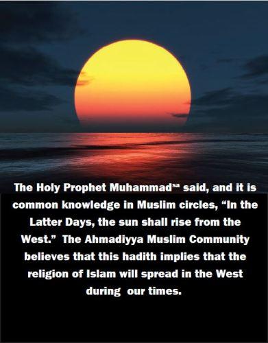 Muslim sunrise