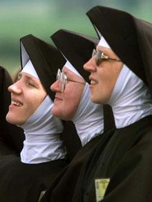 nuns and Hijab