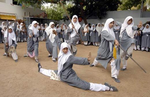 Hijabi Wushu