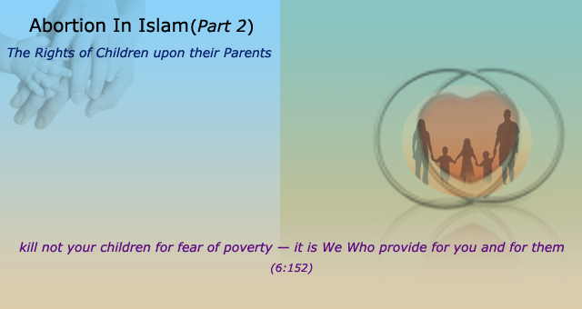 The Rights of Children upon their Parents – The Muslim Times