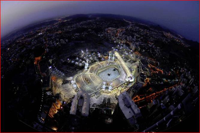 Aerial View of Mecca