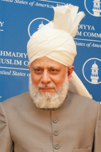 Huzur Anwar at Capitol-Hill