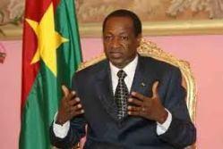 President Blaise Compaoré, a convert to Islam
