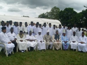 Missionaries at graduation ceremony, Jamia Ahmadiyya Nigeria