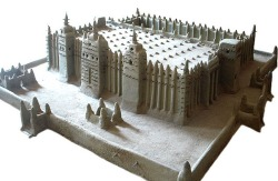 Model of Djenné's Great Mosque, National Museum in Bamako
