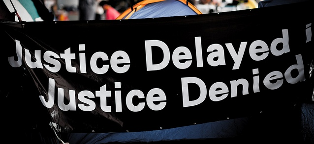 justice delayed is justice denied the muslim times  justice delayed is justice denied