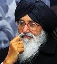 Punjab CM Prakash Singh Badal