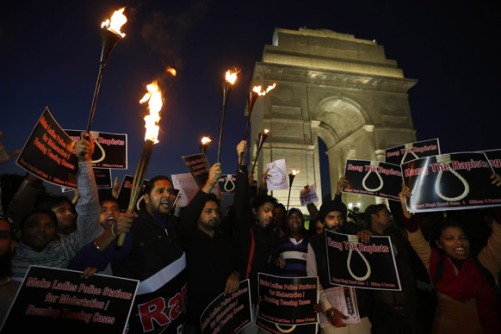 torchlight rally near India Gate to demand capital punishment for rapists