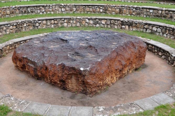 Hoba meteorite - the largest meteorite ever found
