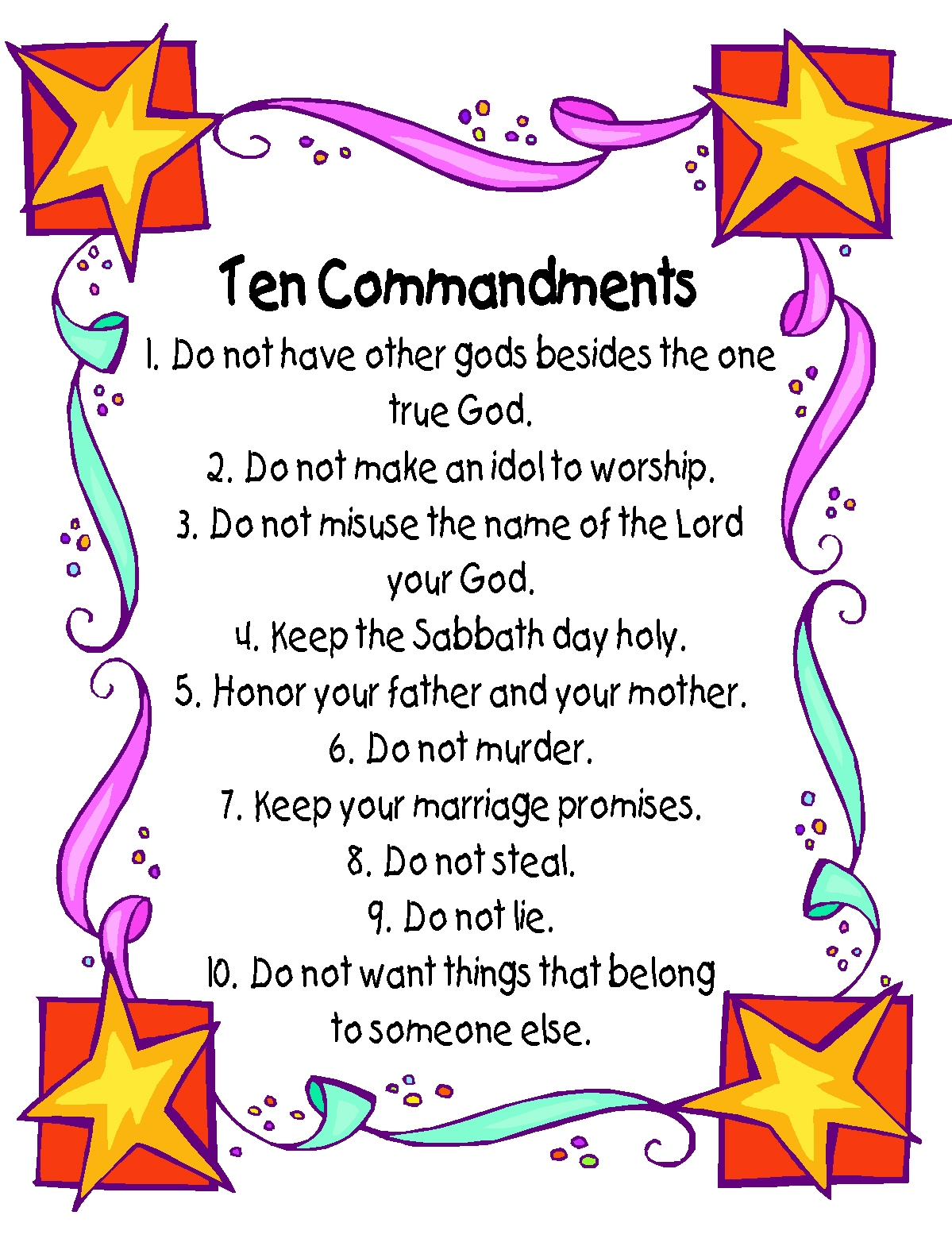 ten-commandments – The Muslim Times