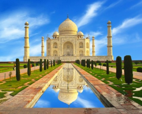 Taj Mahal in India is also a symbol of Muslim Heritage
