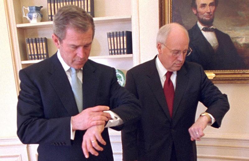 Bush and Cheyne