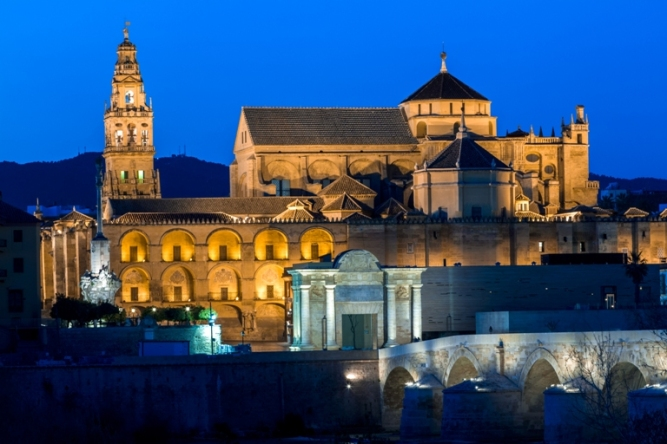 cordoba mosque and bridge