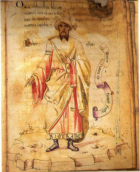Geber 8th century Einstein