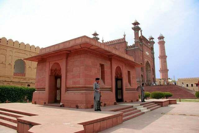 Iqbal Mausoleum in Lahore Pakistan