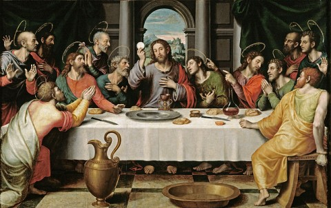 Eucharist and last supper
