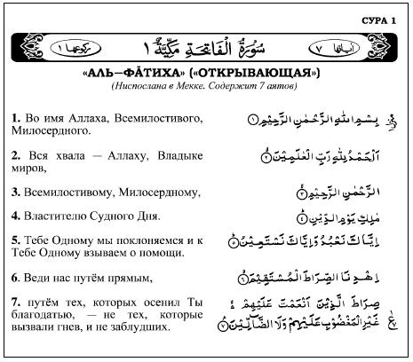 Holy Qur'an – Arabic with Russian Translation – Read Online