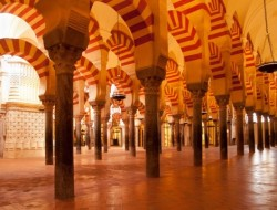 Cordoba mosque in Spain from 8th Century