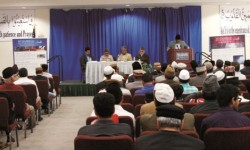 Life of the Holy Prophet event at the Ahmadiyya Muslim Community's Mosque in Chino CA on Sun Jan 26th 2014