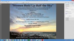 Women hold up half the sky