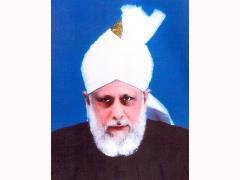 His Holiness Mirza Masroor Ahmed (aba)