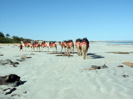 Cable Beach in Western Australia