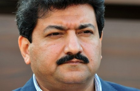 Pakistani journalist and television anchor Hamid Mir in November 2012