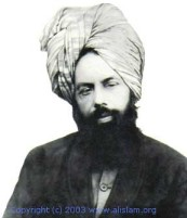 His Holiness the Promised Messiah of the last days of Mirza Ghulam Ahmad of Qadian Earth, Imam Mahdi (peace be upon him)
