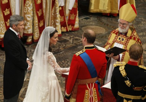 Rowan Williams did ceremonize the marriage of Prince Williams and Kate Middleton