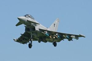 Typhoon jet fighters