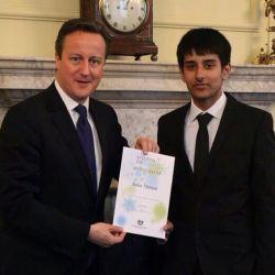 Zafar and Davidn Cameron