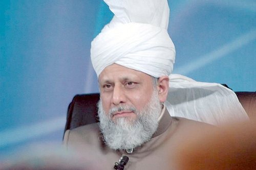 Khalifa of Islam: His Holiness Mirza Masroor Ahmad (aba), Worldwide head of the Ahmadiyya Muslim Community