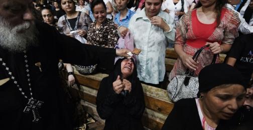 Coptic priest Father Samaan Ibrahim alle