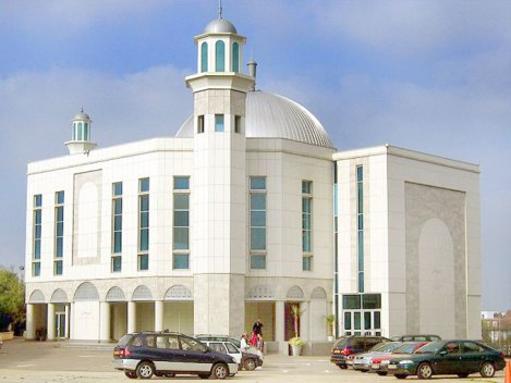 The Baitul Futuh Mosque in London