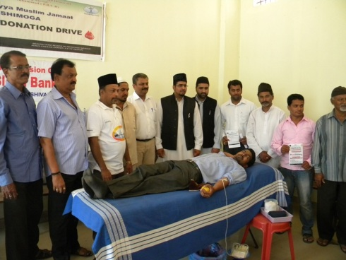 Donation Started with Qaid Majlis Shimoga