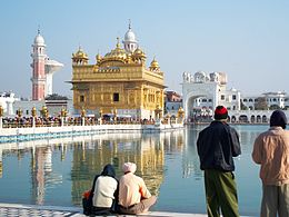 Sikh Golden Temple in Amritsar, India