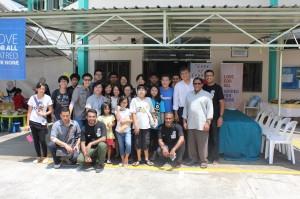 Local Parishers and Pastor Berry at Masjid Taha, Singapore