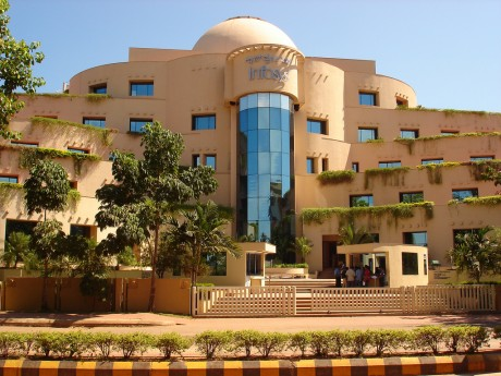 Infosys Campus in Mangalore.  The Symposium is at Town Hall and not in Infosys Campus