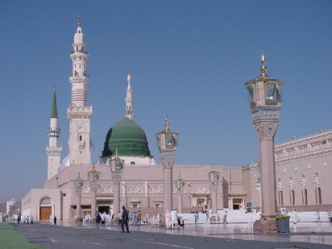 Mosque of Medina: First built in first year after Hijra