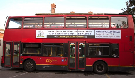 Buses carrying the message