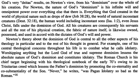 newton s views on god from the book essays on the context nature  newton s views on god from the book essays on the context nature and influence of isaac newton s theology