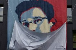 Snowden has been on the run from his native US since June 2013 ( AFP)