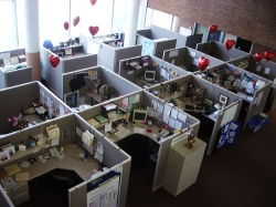 work cubicle