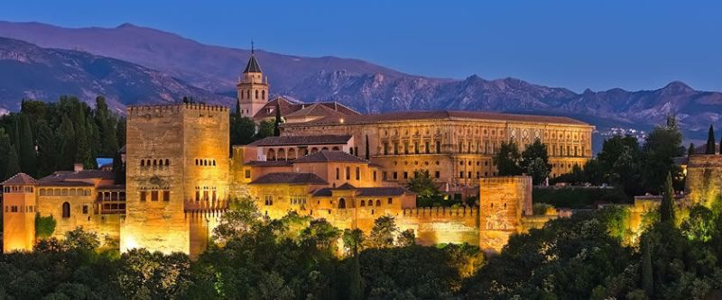 Granada, Cardoba mosque and Alhambra in Spain are powerful symbols of the Muslim Heritage in Europe