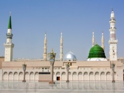 Mosque of Medina, first built by the Prophet Muhammad himself  For the Muslim Times encyclopedic collection about the Prophet Muhammad, may peace be on him, please click here