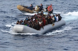 In one year, the number of migrants landing in Italy almost trebled, from 60,000 in 2013 to 165,000 at the end of October 2014 (Reuters)