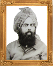 The Promised Messiah & Imam Mahdi His Holiness Mirza Ghulam Ahmad of Qadian