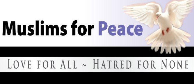 Image result for muslims for peace