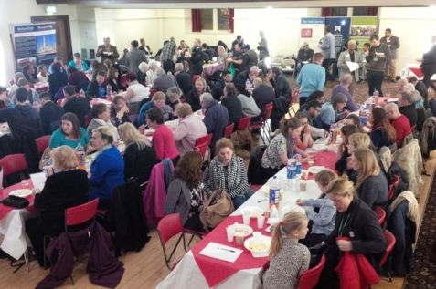 Partick Burgh Hall hosted 250 people for the Ahmadiyya Muslim Community Glasgow New Year Dinner on Sunday night