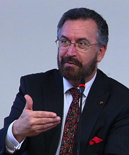 International Director of Interreligious Affairs at the American Jewish Committee Rabbi David Rosen